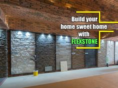 Build your home sweet home with #FLEXSTONE. Address: Flexstone Gallery, shapath 4, Ground floor, Shop No. 4, Opp Karnavati club , S.g.highway. Contact No: 9979758333 #Decor #artificialstones #specializedfloors #CityShorAhmedabad