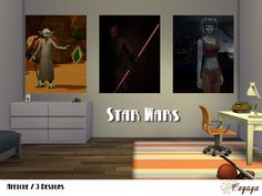 Sims 4 Affiches  Star Wars