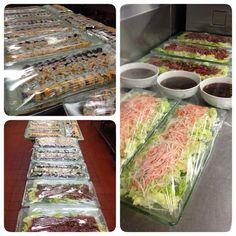 Finally done buffet japanese corner 1200pax #japanese #japanesefood #sushi #tataki #salad #instafood #sushichef #sushicheflife by moodyyosin