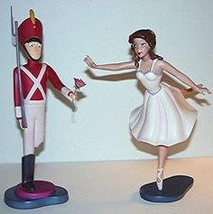 The Steadfast Tin Soldier And Ballerina Figures by VelociPRATTor