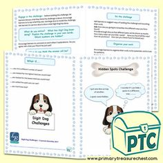 FREE Digit Dog Maths Challenges by Lynwen Barnsley Numeracy Consultant - Primary Treasure Chest Teaching Activities, Teaching Tools, Teaching Ideas, Early Years Classroom, Math Challenge, Child Teaching, Barnsley, Free Math, Thinking Skills