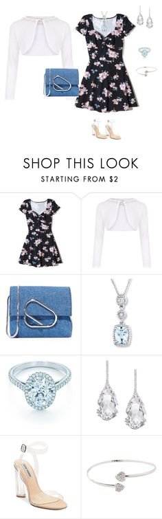 """Black"" by tsurumi-mai on Polyvore featuring ファッション, Hollister Co., Monsoon, 3.1 Phillip Lim, Tiffany & Co., Plukka と Steve Madden"