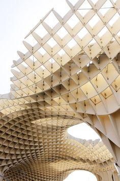 Plaza de la Encarnacion, Seville, Spain Barcelona Architecture,  Architecture Design, Parametric Architecture b6cc7929937