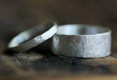 Su & ella prometen par de anillos anillo conjunto