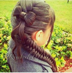 Bow braid