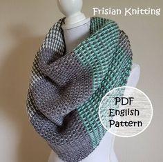 Crochet pattern shawl, crochet pattern Tunisian stitch scarf, triangle scarf, pattern crochet shawl door Frisianknitting op Etsy