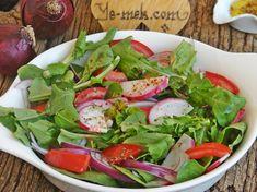 Roka Salatası Resimli Tarifi - Yemek Tarifleri