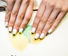 Kate Spade Spring 2014 nails The 7 coolest nail ideas to steal from New York Fashion Week Spring 2014