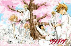"""Tags: Tsubasa: RESERVoir CHRoNiCLE, CLAMP, Kurogane, Fay D. Flourite, Tsubasa: TOKYO REVELATIONS, Li Syaoran (TRC), Mokona Modoki, Li """"Syaoran"""", Princess """"Sakura"""", Official Art, Princess Sakura, Clamp - Tsubasa Album De Reproductions 2"""