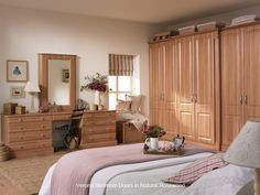 Verona - Replacement #Bedroom Wardrobe Door - Custom Made #rosewood