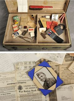 Frank's suitcase included much military-related ephemera. Abandoned Suitcases Reveal Private Lives of Insane Asylum Patients Old Hospital, Abandoned Hospital, Abandoned Asylums, Abandoned Places, Insane Asylum Patients, Willard Asylum, Mental Asylum, Psychiatric Hospital, Mental Health Care