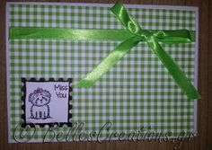 gr: Miss you! Miss You, Stamps, Creations, Gift Wrapping, Create, Cards, Gifts, Ideas, I Miss U
