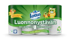 Lotus Luonnonystävän -wc-paperi on valmistettu kierrätyskuidusta eli keräyspaperista valmistetusta puukuitumassasta. Kierrätyspaperista valmistettu pehmopaperi ei ole yhtä vaaleaa kuin uudesta kuidusta valmistettu, mutta Lotus Luonnonystävän -wc-paperi on muuten pehmeää ja kestävää Lotus-laatua. #lotus #luonnonystävän