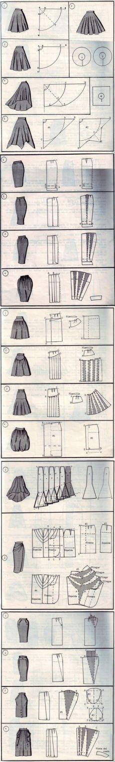 37 maneras para coser una falda