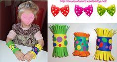 Des jolis bracelets colorés pour le carnaval *Février 2010*
