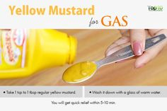 yellow mustard for gas pains Home Remedies For Gas, Natural Remedies For Gas, Gas Remedies, Natural Headache Remedies, Health Remedies, Home Remedy Teeth Whitening, Teeth Whitening System, Natural Teeth Whitening, Hydrogen Peroxide Uses
