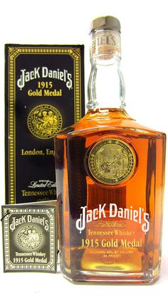 Jack Daniels - 1915 Gold Medal Limited Edition - Whisky