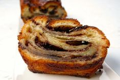 Get Chocolate Babka Recipe from Cooking Channel Cooking Channel Shows, Delicious Desserts, Dessert Recipes, Babka Recipe, Chocolate Babka, Lamb Burgers, Thing 1, The Help, Sweet Treats
