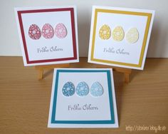 stampin up, cards easter