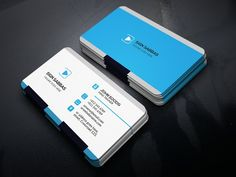 Business Card Templates This Is Clean Business Card Template. Elegant page designs are easy to use and customize.** Flexib by Create Art