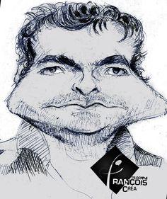 Caricature Mathieu Chedid
