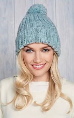 1965b53d3a5 FREE Knitting Pattern for our Lovely Mock Cable Bobble Hat ...