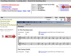 RUGERI - MUSIC TEACHING METHODS; See how a music teacher can customize sheet music specifically for their student(s).