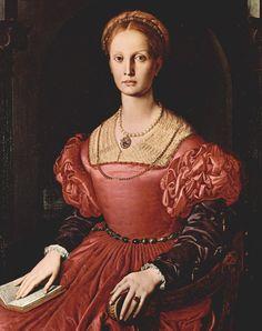 Lucrezia Panciatichi by Angelo Bronzino - Agnolo Bronzino – Wikipedia