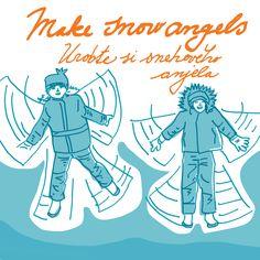 Snow angels - by Livia Prudilova - Anglicky efektívne
