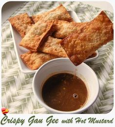 Enjoy this delicious Chinese local style Crispy Gau Gee recipe. Get more Hawaiian and local style food recipes here.