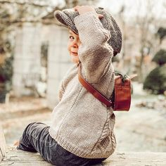 Thank you for sharing this precious moment with us ✨ This sweet peaky blinder is wearing knit sweater SEBASTIAN handknitted of virgin merino wool. Peaky Blinders, Precious Moments, Kind Mode, Merino Wool, Kids Fashion, Winter Hats, Van, In This Moment, Knitting