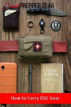 How to Carry EDC Gear