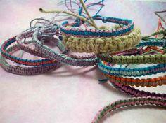 #Macrame #Hemp #Friendship #Bracelets by #HemptressDesigns on Etsy, $5.00 hemptressdesigns.com