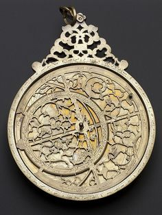 Moghul Astrolabe by Jamal al-din in Lahore, 1666 AD