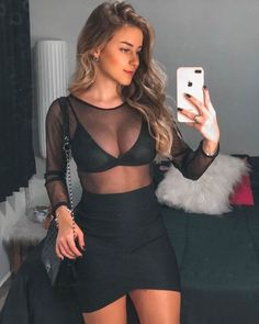 Girls Night Out Outfits, Going Out Outfits, Girl Outfits, Fashion Outfits, Teen Party Outfits, Club Outfits For Women, Clubbing Outfits, Summer Outfits, Dinner Outfits