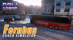 Fernbus Coach Simulator Red Arrow Bus Lines #Fernbus #CoachSimulator #simulation #Steam #pc #YouTube #DaliHDGaming
