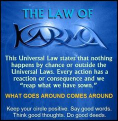 karma sayings for facebook | The Law of Karma | Quotes