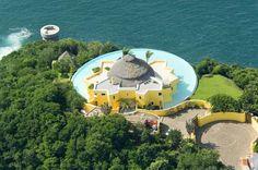 My dream vacation location - only $7000/nt. :( Such a beautiful place!  Costa Careyes | Sol De Oriente | Careyes Villas | Costa Careyes Villa Rentals