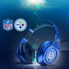 Monster beats by dre studio Pittsburgh Steelers headphones