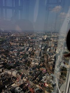 View from The Shard in London The Shard London, City Photo
