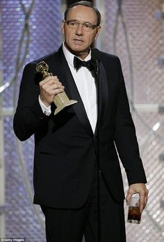 Finally! Kevin Spacey shared some heartfelt words during his Best Actor acceptance speech at the 72nd Annual Golden Globe Awards at the Beverly Hilton Hotel in Los Angeles on Sunday
