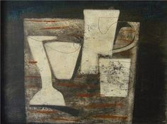 One of my favourite painters, Ben Nicholson ...beautiful texture and colour