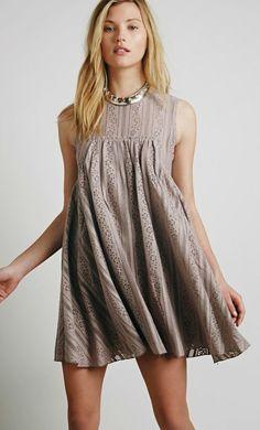 Tu-es-la Mini Dress in Sandstone