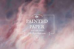 Painted Paper Textures The Petal Collection – Avalon Rose Design