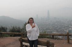 Hoy he paseado un azucarillo del Pimpi por SANTIAGO DE CHILE, que pena que estuviera tan nublado, espero que se vea
