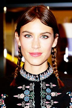 """"""" Alexa Chung attends a photocall to launch Nails Inc: The Alexa Editions at Selfridges on November 20, 2014 in London, England. """""""