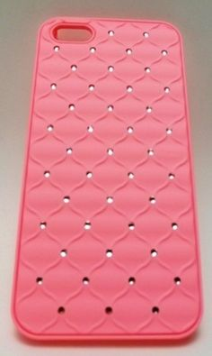 CAPA CRAVEJADA ROSA IPHONE 5