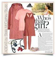 """""""Stella McCartney Studio (ADIDAS contest)"""" by scrapbook-luvr ❤ liked on Polyvore featuring adidas and Equipment"""