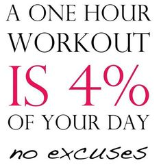 A one hour workout is of your day. no excuses A one hour workout is of your day. no excuses A one hour workout is of your day. no excuses Sport Motivation, Health Motivation, Monday Motivation, Workout Motivation, Workout Quotes, Zumba Quotes, Exercise Quotes, Motivation Wall, Motivation Pictures