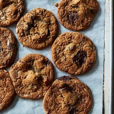 Date, Halvah, and Chocolate Chunk Cookies Recipe on Food52 recipe on Food52